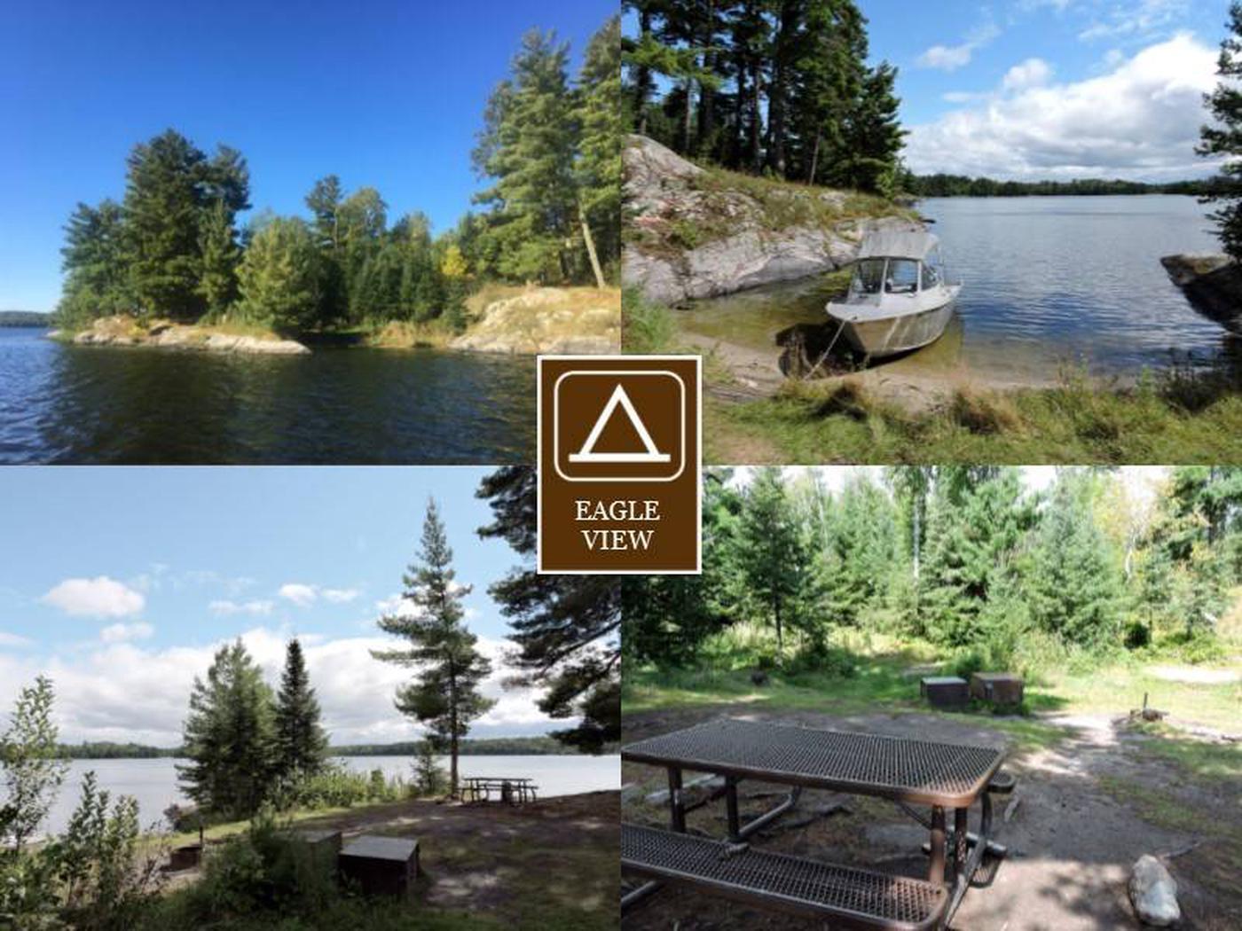 K7 - Eagle ViewEagle View campsite on Kabetogama Lake