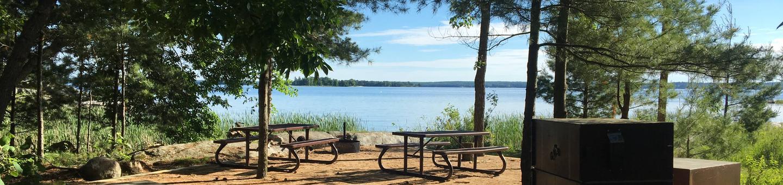 K41 - Echo Island K41 - Echo Island campsite on Kabetogama Lake
