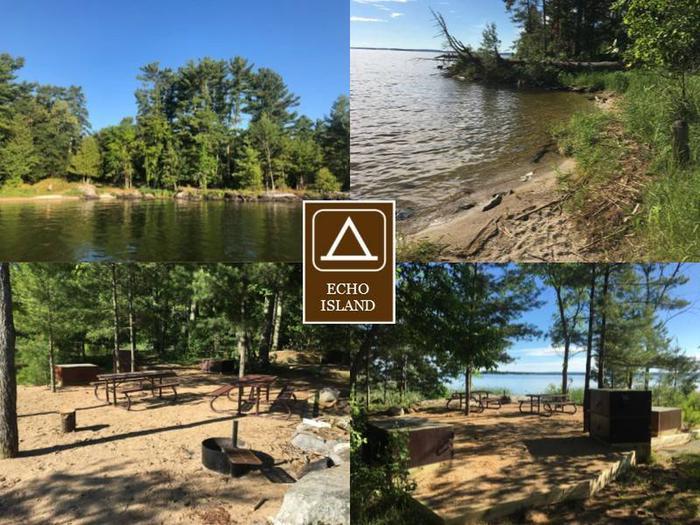 K41 - Echo IslandK41 - Echo Island campsite on Kabetogama Lake