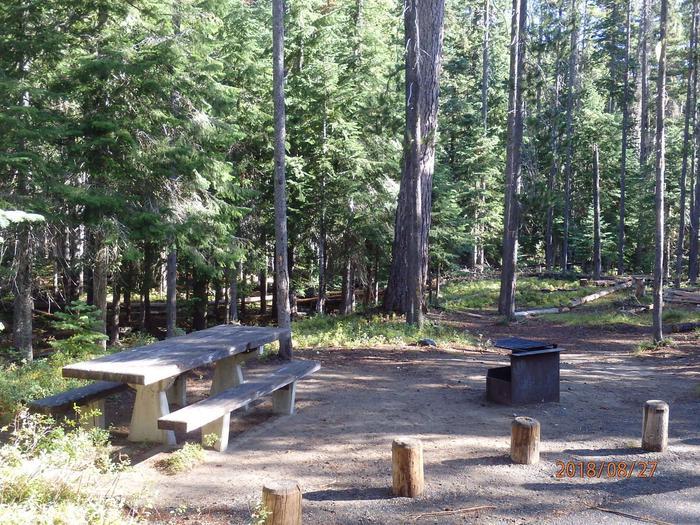 Lodge Pole CampgroundCampsite 24