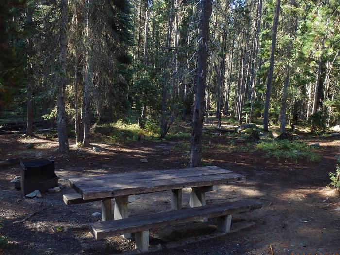Lodge Pole CampgroundCampsite 17
