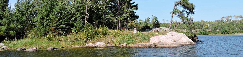 K16 - Lost BayK16 - Lost Bay campsite on Kabetogama Lake