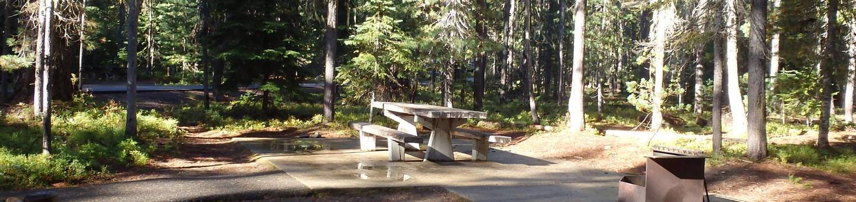 Lodge Pole CampgroundCampsite 7