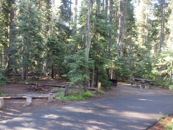 Lodge Pole CampgroundCampsite 6