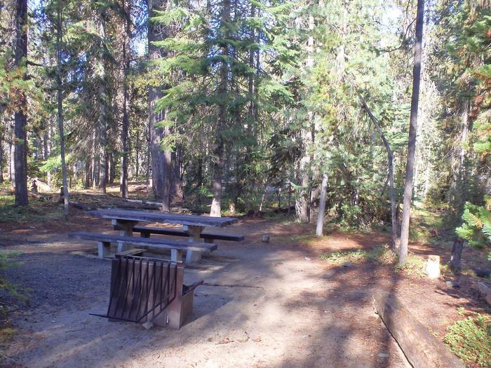 Lodge Pole CampgroundCampsite 3