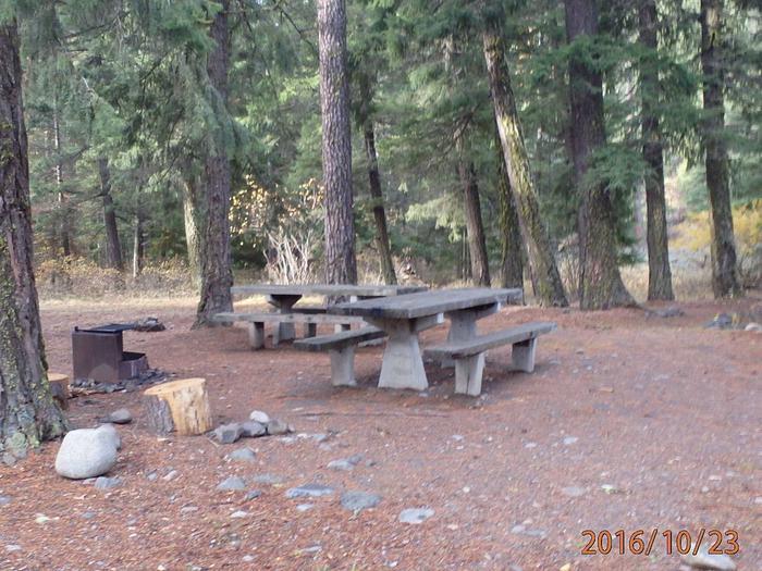 Halfway Flat CampgroundCampsite 4