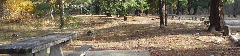 Halfway Flat CampgroundCampsite 6