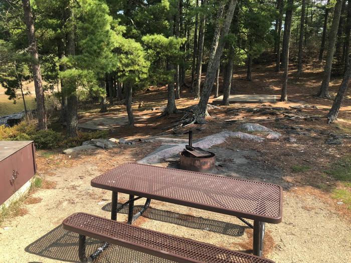 K17 - Lost Bay IslandView of campsite