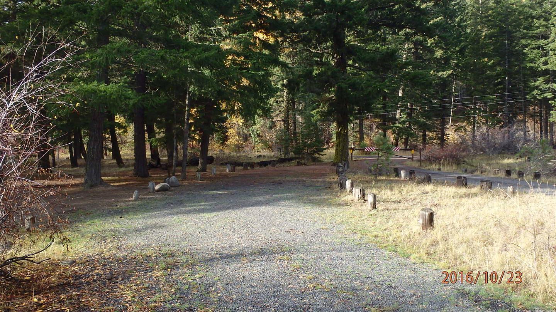 Halfway Flat CampgroundNice parking spur