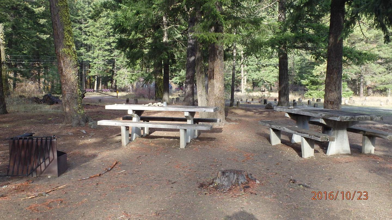 Halfway Flat CampgroundCampsite 8