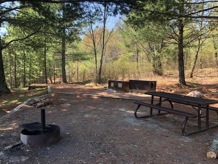 K19 - Lost LakeView of campsite