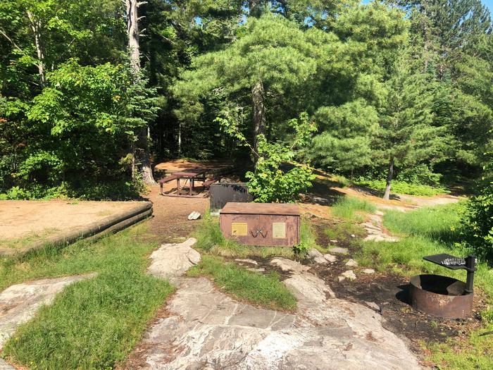 K22 - Moxie IslandView of campsite