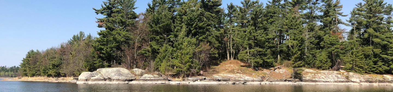 K31 - Sphunge Island EastK31 - Sphunge Island East campsite on Kabetogama Lake
