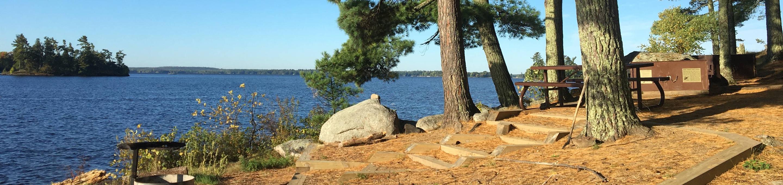 K45 - Pine PointK45 - Pine Point campsite on Kabetogama Lake