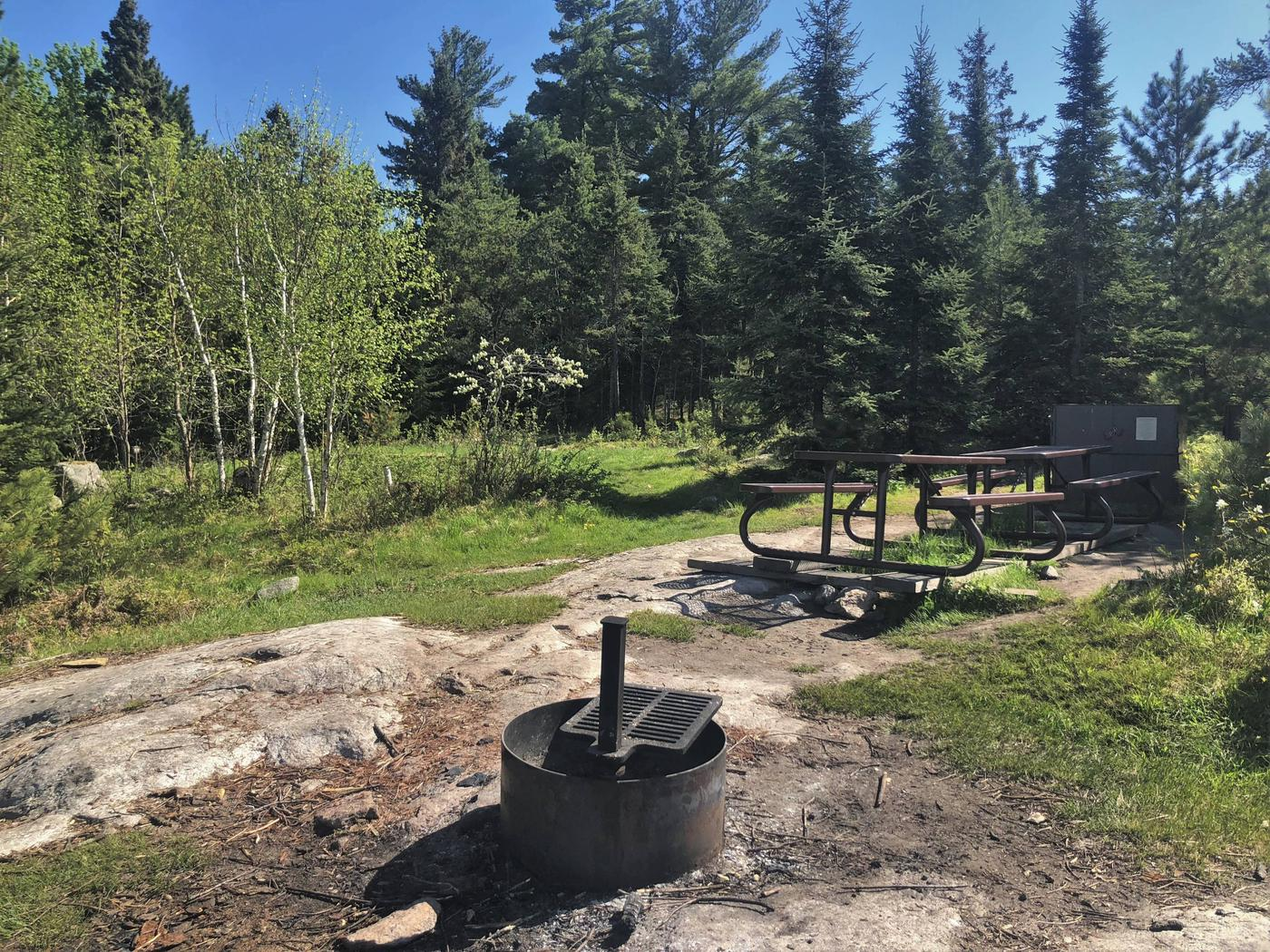 K55 - Marrs PointView of campsite