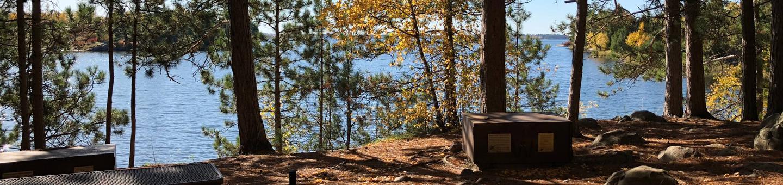 K5 - C. Vic LinstenK5 - C. Vic Linsten campsite on Kabetogama Lake
