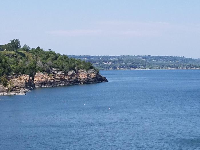 View from Overlook Tenkiller Lake
