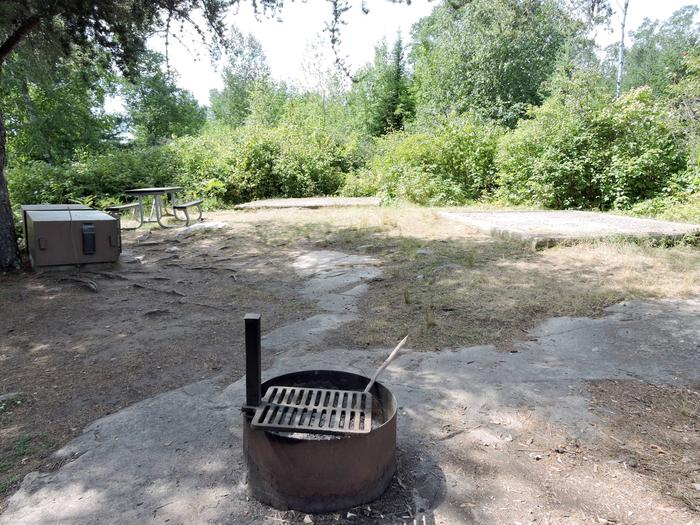 N57 - Aspen BenchView of campsite