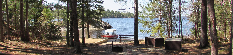 N1 - Birch CoveN1 - Birch Cove campsite on Namakan Island