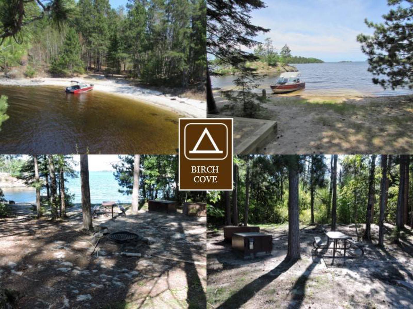 N1 - Birch CoveN1 - Birch Cove campsite on Namakan Lake