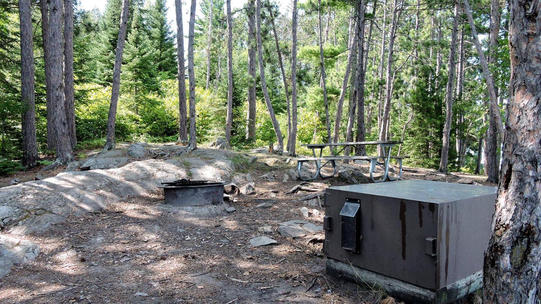 N10 - Fox IslandView of campsite