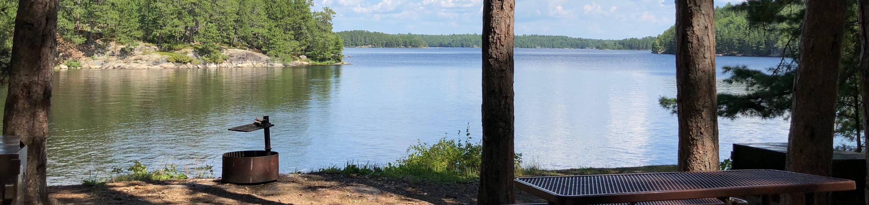 N12 - Hoist BayN12 - Hoist Bay campsite on Namakan Lake