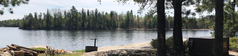 N13 - Johnson BayN13 - Johnson Bay campsite on Namakan Lake