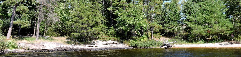 N27 - Namakan Island EastN27 - Namakan Island East campsite on Namakan Lake