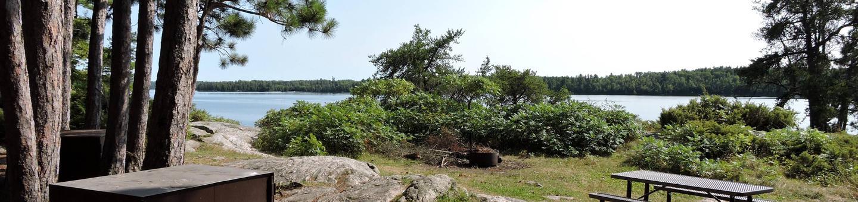 N28 - Namakan Island WestN28 - Namakan Island West campsite on Namakan Island