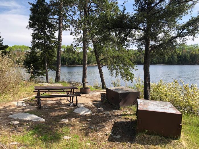 N29 - Old Dutch BayN29 - Old Dutch Bay campsite on Namakan Lake