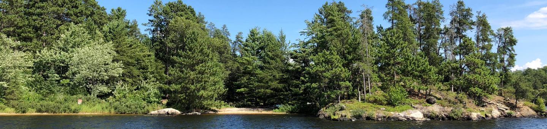 N37 - Sandbar PointN37 - Sandbar Point campsite on Namakan Lake
