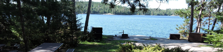 N43 - Torry Fish CampN43 - Torry Fish Camp campsite on Namakan Lake