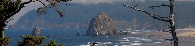 Haystack Rock at Oregon Islands National Wildlife Refuge