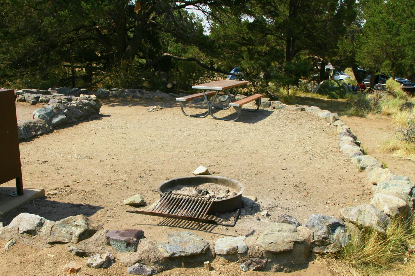 Site #86, Pinon Flats Campground