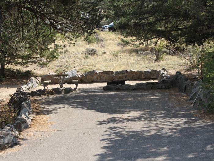 Site #73, Pinon Flats Campground