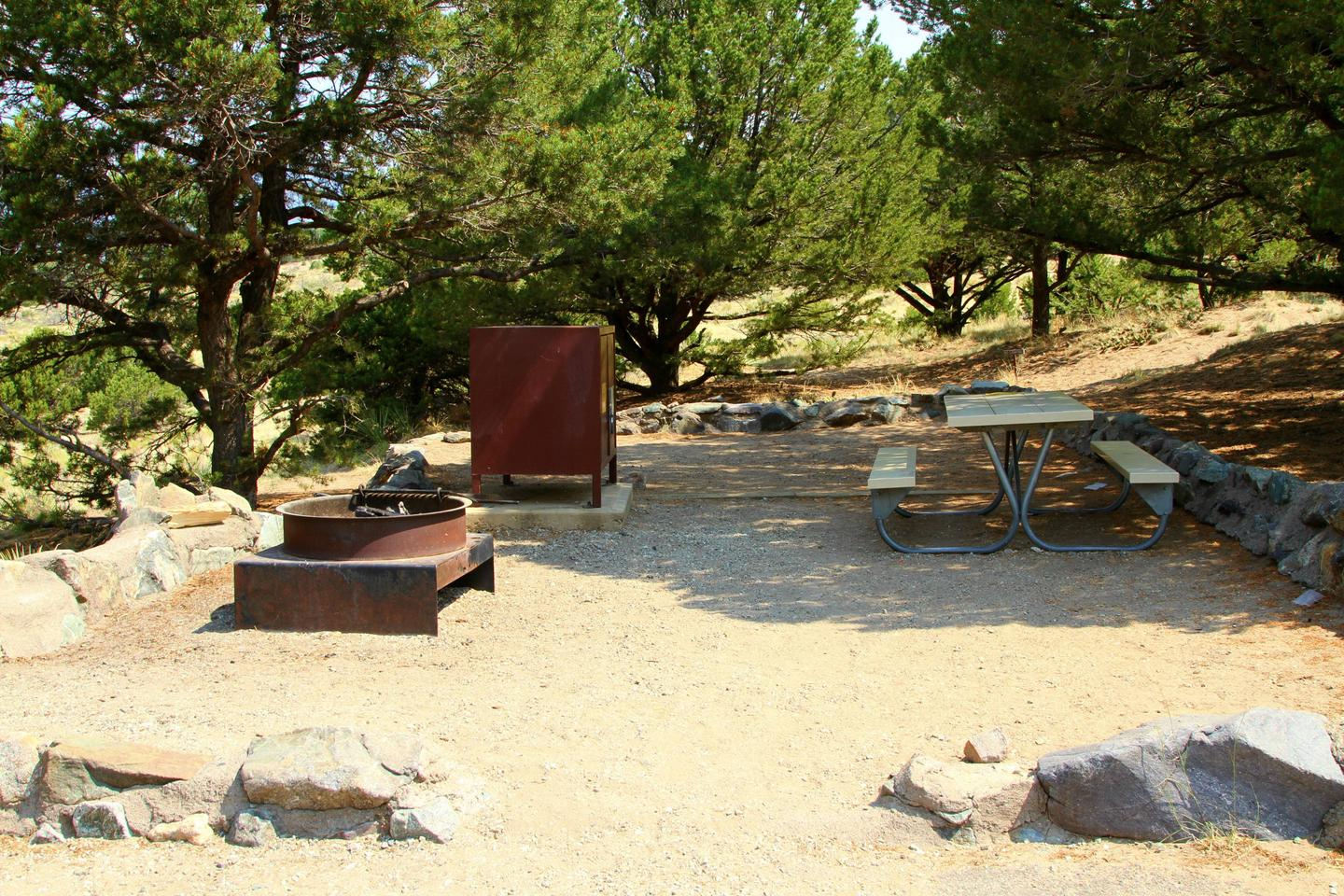 Site #63, Pinon Flats Campground