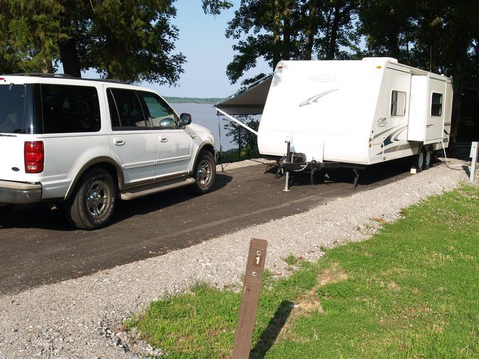 Hernando Point Campground Site 1
