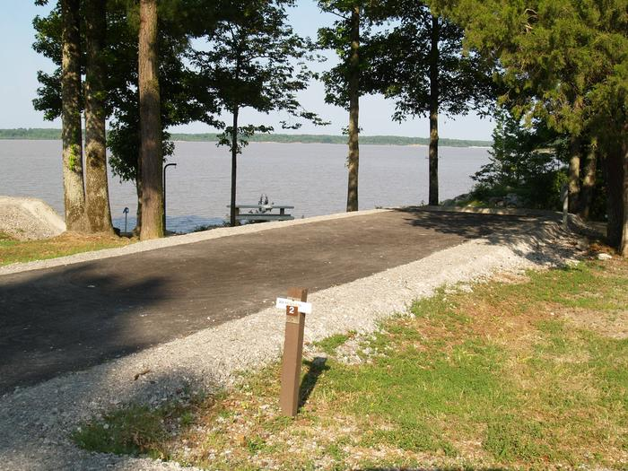 Hernando Point Campground Site 2