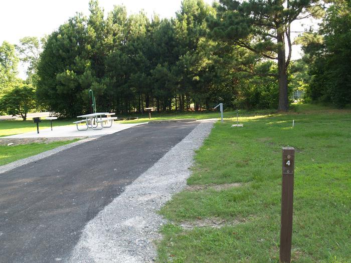 Hernando Point Campground Site 4
