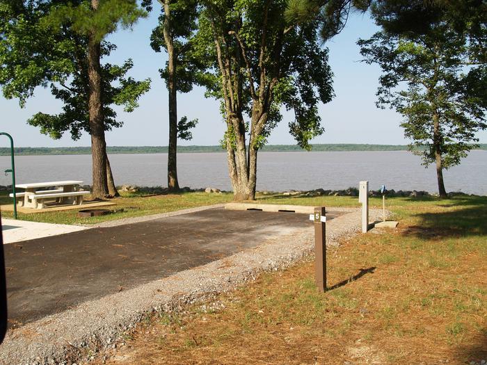 Hernando Point Campground Site 5