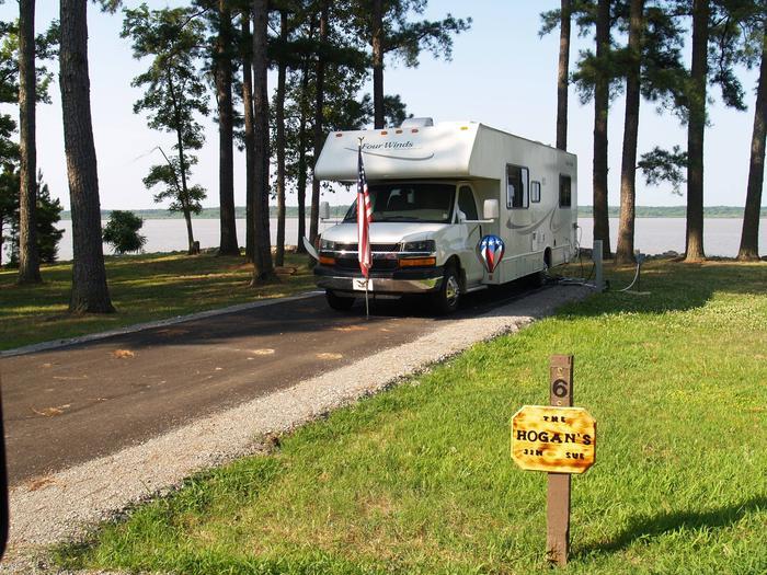 Hernando Point Campground Site 6