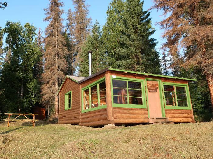 Vogel Lake cabin.