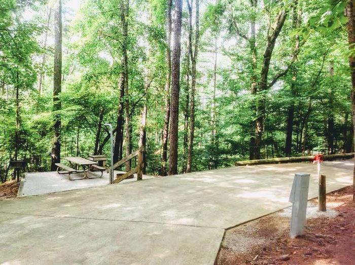 Deerlick Creek Campsite 25 Picnic Area