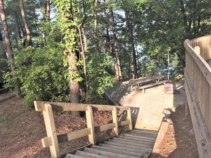 Deerlick Creek Campsite 34 Picnic Area