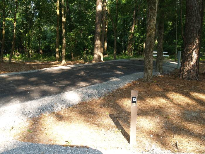 Hernando Point Campground Site 13