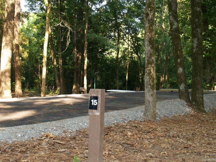 Hernando Point Campground Site 15