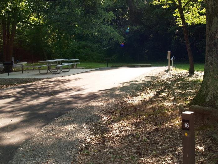 Hernando Point Campground Site 16