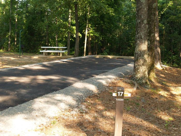 Hernando Point Campground Site 17