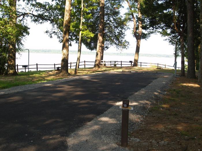 Hernando Point Campground Site 18