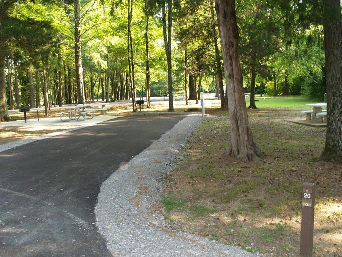 Hernando Point Campground Site 20
